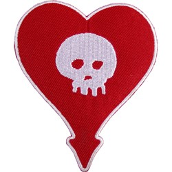 Alkaline Trio - Heartskull Patch
