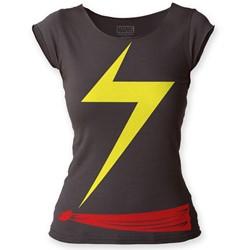 Ms. Marvel - Womens Suit Cut T-Shirt