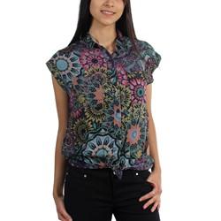 Hurley - Juniors Wilson Woven Short Sleeve Shirt