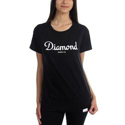 Diamond Supply Co. - Womens Champagne Script T-Shirt