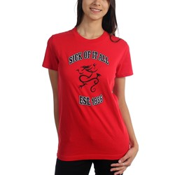 Sick Of It All - Womens Est. 1986 Red 2 - Girls T-Shirt