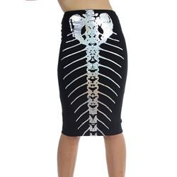 Iron Fist - Womens Bone Deep Pencil Skirt