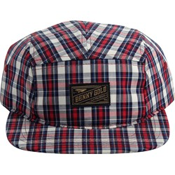 Benny Gold - Mens Ochard Plaid 5 Panel Hat