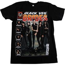 Black Veil Brides - Mens The Real Mary Slim Fit T-Shirt