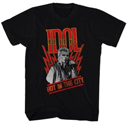 Billy Idol - Mens Hot In The City T-Shirt