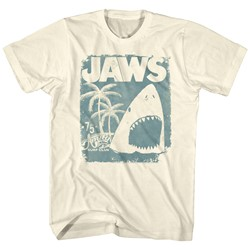 Jaws - Mens Surf Club Poster T-Shirt