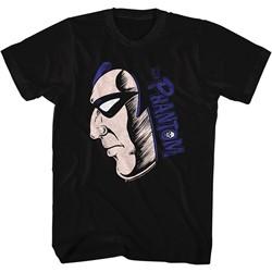 The Phantom - Mens Phantom Face/Logo T-Shirt