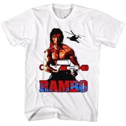 Rambo - Mens White T-Shirt