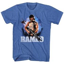 Rambo - Mens Wild Blue Yonder T-Shirt