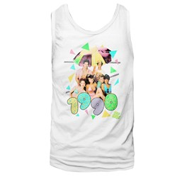 Saved By The Bell - Mens Classroom Hijinx Tank Top