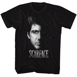 Scarface - Mens Red Eye T-Shirt