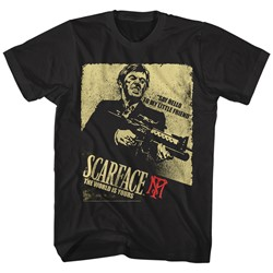 Scarface - Mens Scarface Action T-Shirt