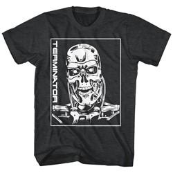 Terminator - Mens Machine Skull T-Shirt