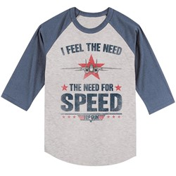 Top Gun - Mens Needing Speed T-Shirt