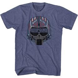Top Gun - Mens Maverick Helmet T-Shirt