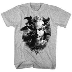 Vikings - Mens Odins Raven T-Shirt