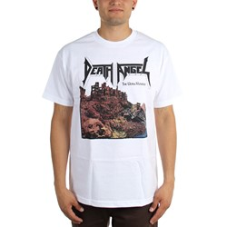 Death Angel - Mens The Ultra Violence T-Shirt in White