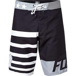 Fox - Mens Red, White And True Boardshorts