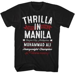 Muhammad Ali - Mens Thrilla T-Shirt