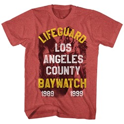 Baywatch - Mens Lifeguard T-Shirt