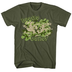 Beetle Bailey - Mens Camo Case T-Shirt