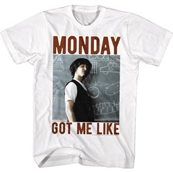 Bill And Ted - Mens Monday Got Me Like T-Shirt