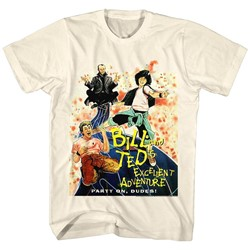 Bill And Ted - Mens Dvd Cover T-Shirt