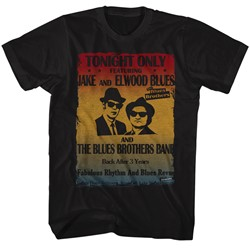 Blues Brothers - Mens Poster T-Shirt