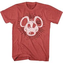 Danger Mouse - Mens Danger Sunburst T-Shirt