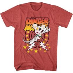 Danger Mouse - Mens Target Danger T-Shirt