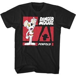 Danger Mouse - Mens Danger Zone T-Shirt