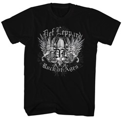 Def Leppard - Mens Rockofages T-Shirt
