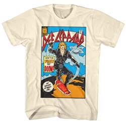 Def Leppard - Mens Comic T-Shirt