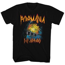 Def Leppard - Mens It'S On Fire T-Shirt
