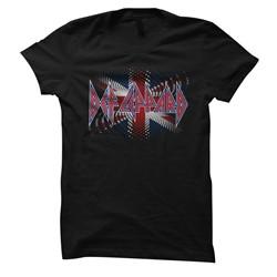 Def Leppard - Womens Brit Ish T-Shirt