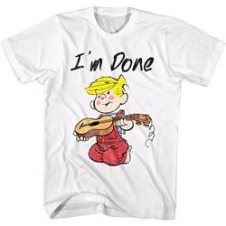Dennis The Menace - Mens I'M Done T-Shirt