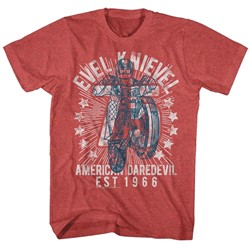 Evel Knievel - Mens Seventy Five! T-Shirt