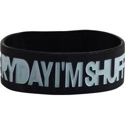 LMFAO - Edis Rubber Bracelet In Black