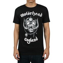 Motorhead - England Mens T-shirt in Black