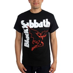 Black Sabbath - Mens Creature T-shirt in Black