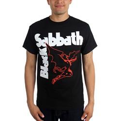 Black Sabbath - Mens Creature T-shirt in Black