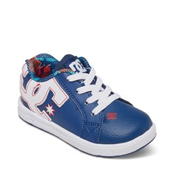 DC- Toddlers  Court Graffik Elastic Ul Lowtop Shoes