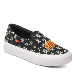 DC - Youth Trase Slip-On Skate Shoes