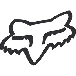 Fox - Mens Foxhead Tdc 10 Inch Sticker