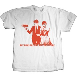 The Bird And The Bee - Raygun Mens T-Shirt In White