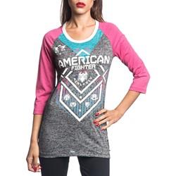 American Fighter - Womens North Dakota Tech 3/4 Sleeve T-Shirt