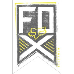 Fox - Mens End Brigade Sticker