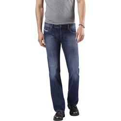 Diesel - Mens Zatiny Slim Bootcut Jeans, Wash: 0855L