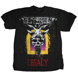 Testament - Mens Legacy T-shirt in Black
