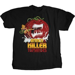 Attack of the Killer Tomatoes - Womens Movie Poster T-Shirt
